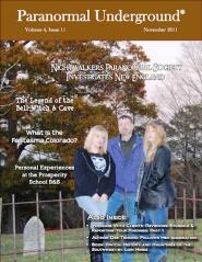 Paranormal Underground magazine - Nov. 2011