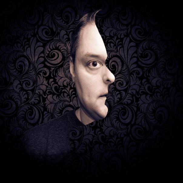 A creepy optical illusion and self-portrait.